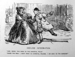 Punch (1851): Useless Information (John Leech Sketch archives from Punch)
