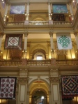 Exhibit of wonderful quilts in Denver's City Hall