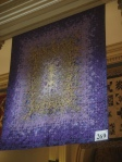 A quilt exhibit in Denver's City Hall